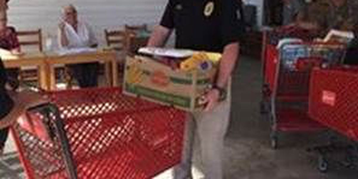 Horry County police distributed over 8K pounds of food items to Hurricane Matthew victims