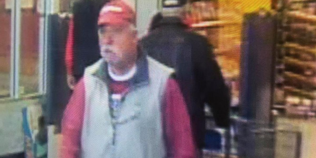 Man sought by police after alleged shoplifting incident