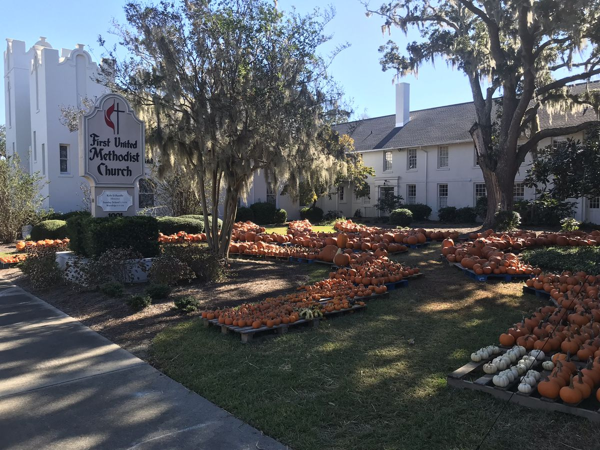 Church's pumpkin patch to benefit flood victims