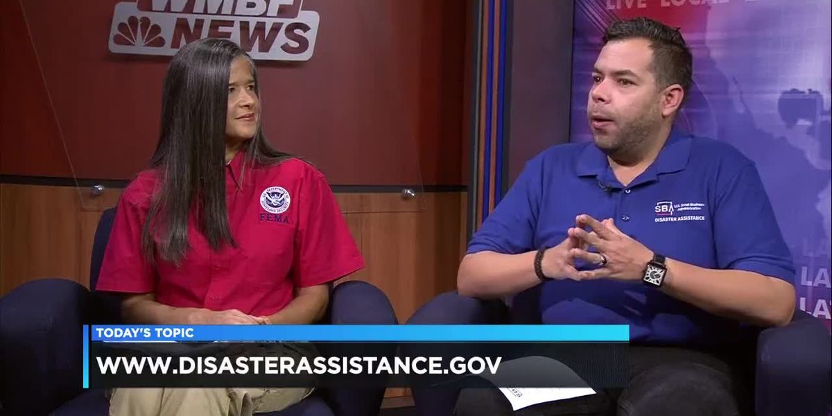 Today's Topic: FEMA and Small Business Administration assist with recovery after Florence - Part 1