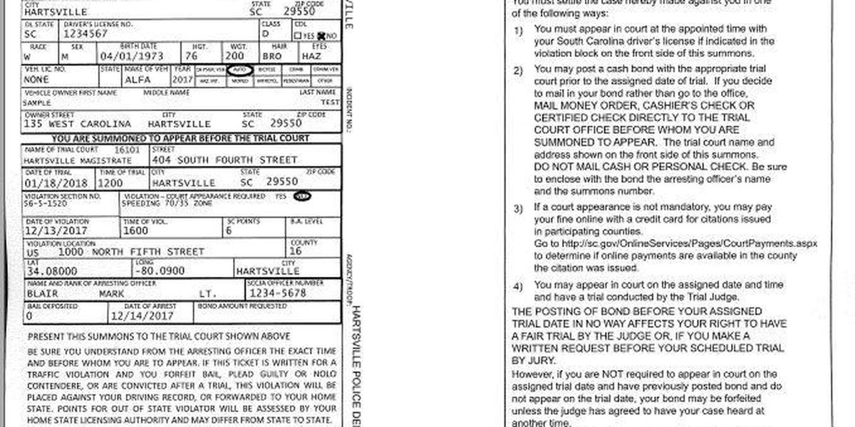 Hartsville police officers to start issuing computer-printed traffic tickets