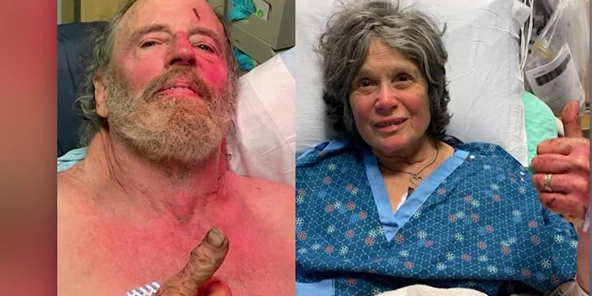 A miraculous rescue of a couple missing since Valentine's Day