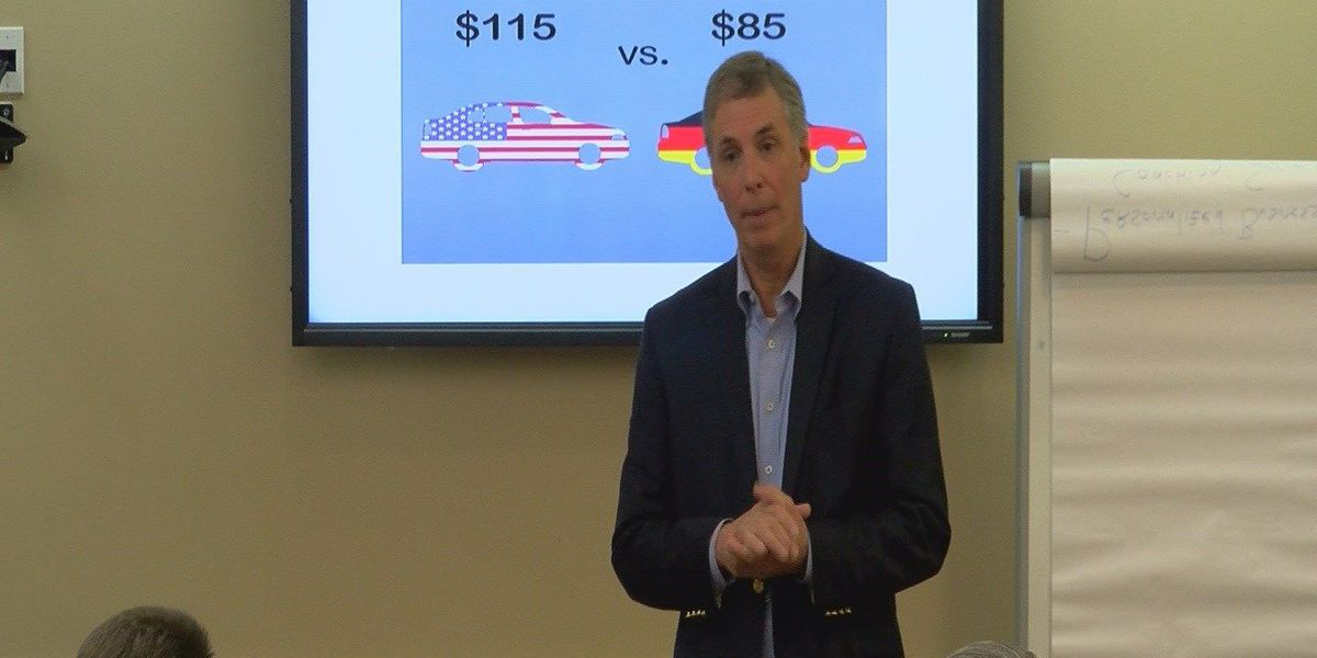 Business leaders, concerned citizens talk taxes with local congressman