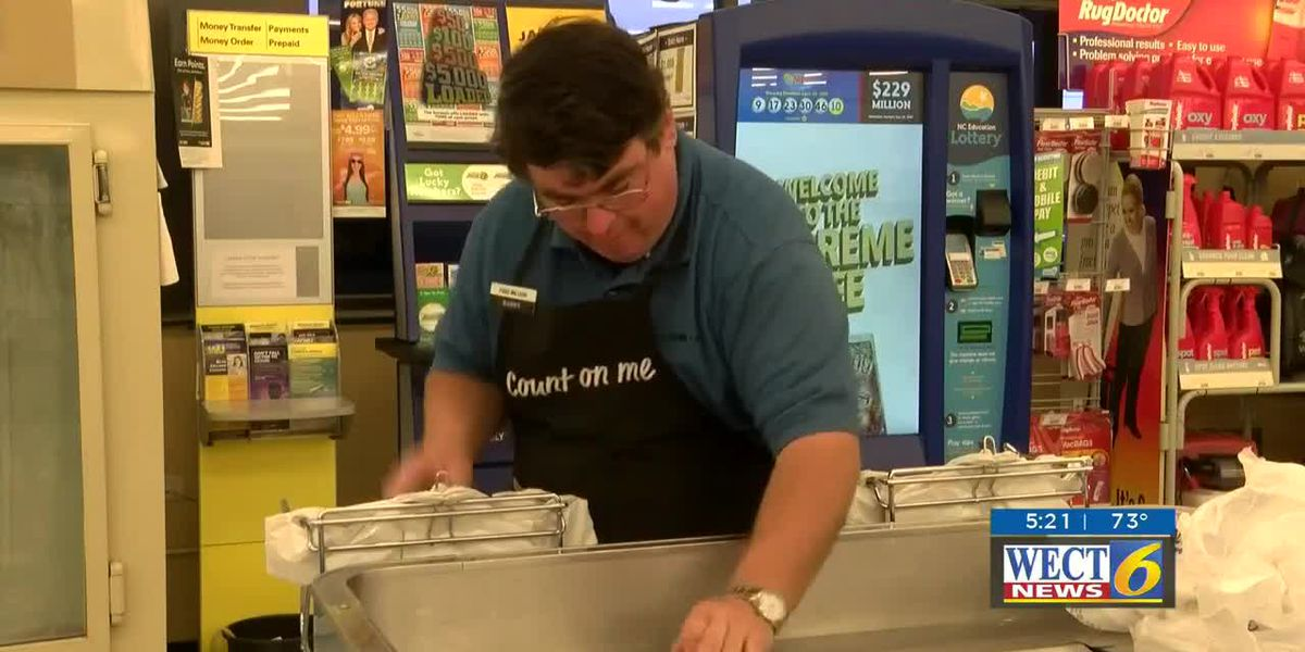 Man with disability celebrates 20th work anniversary at local grocery store