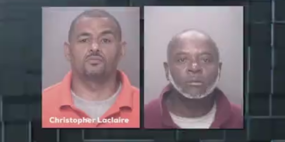 Two men arrested after being caught breaking and entering in Lumberton home