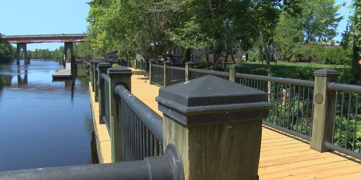 Repairs to Riverwalk in Conway complete after Florence