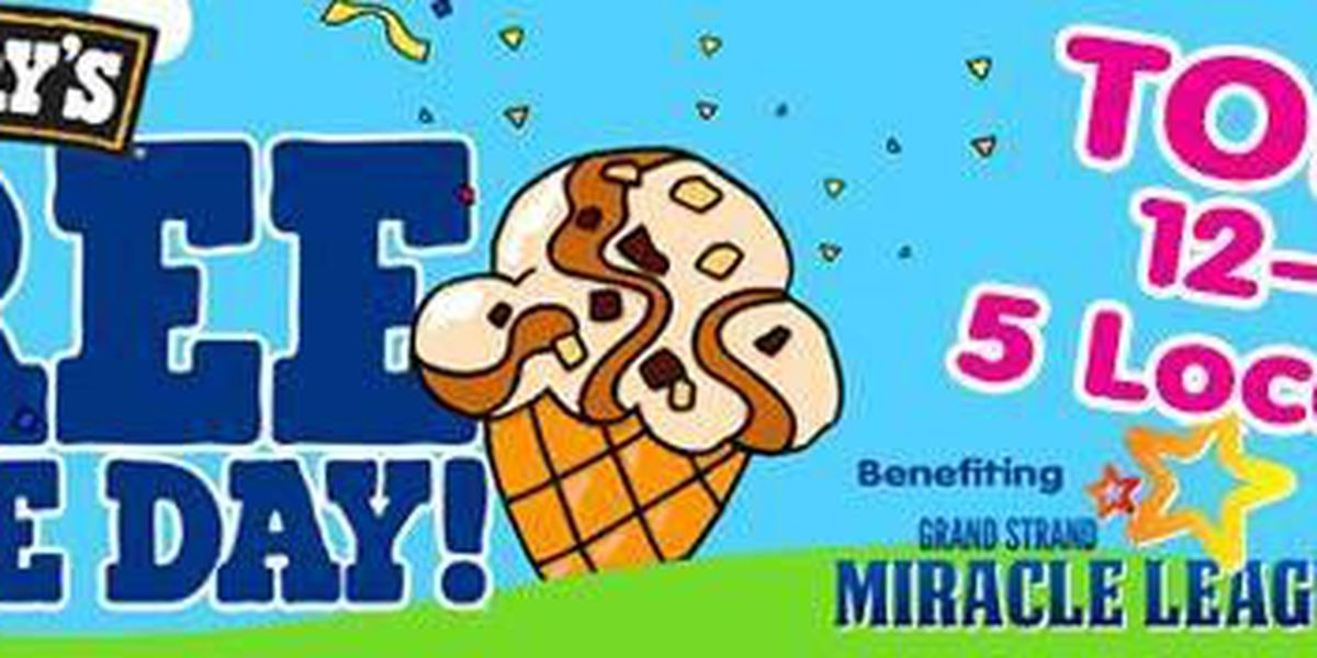 Tuesday is Free Cone Day at Ben & Jerry's