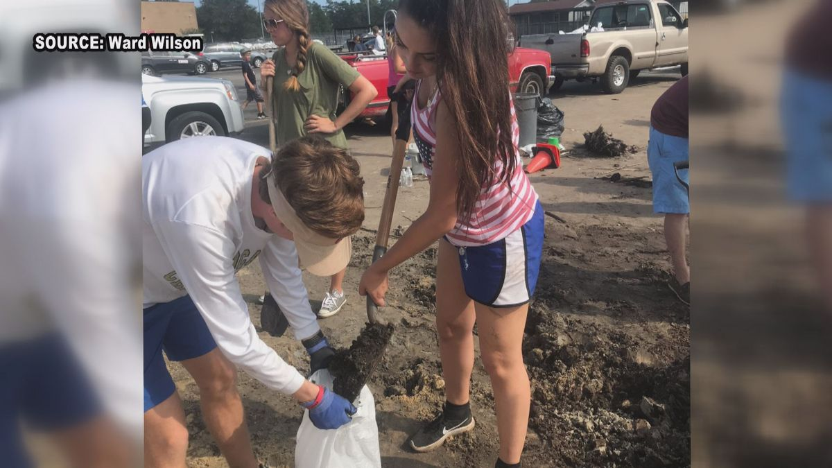 Student Spotlight: Socastee High students recall sand bagging effort after Florence