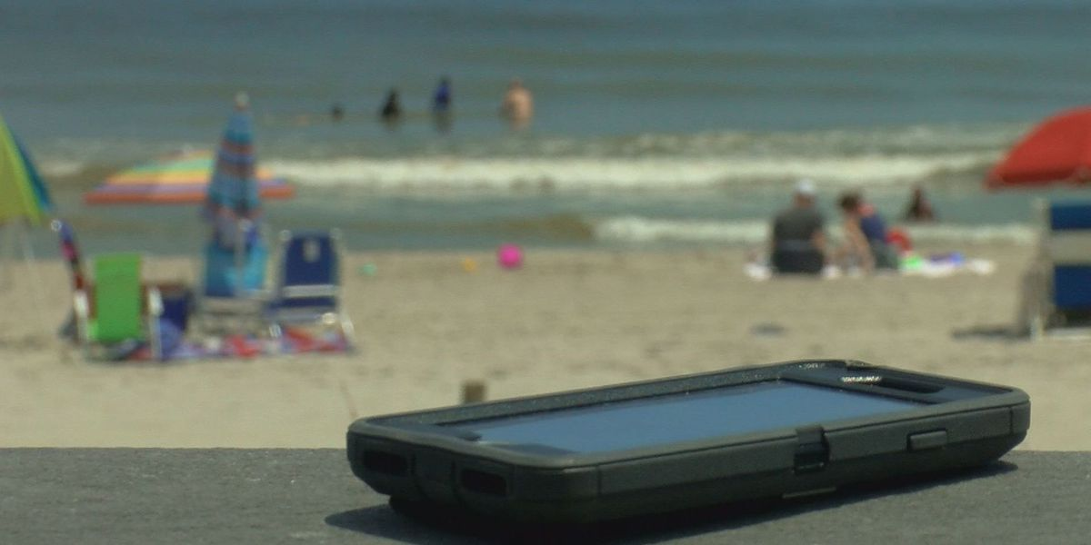 Cellphone thefts on the rise in Myrtle Beach