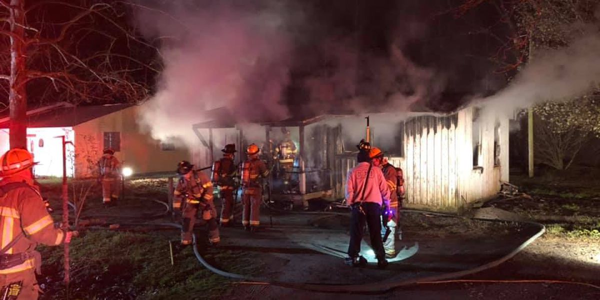 Dog dies, one person hurt in Conway house fire