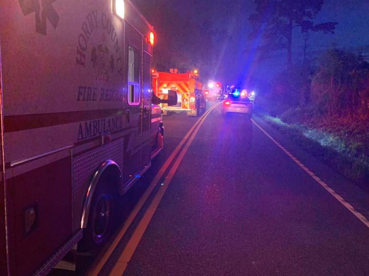 SCHP: Two killed after vehicle strikes tree in Nichols area