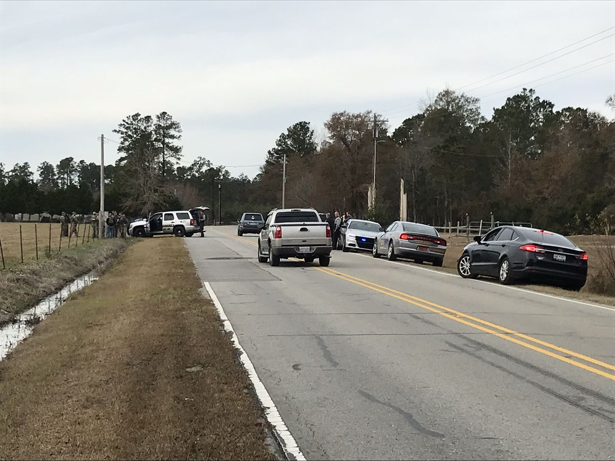 Manhunt follows chase into Horry County; one suspect in custody