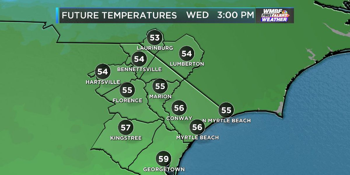 FIRST ALERT: Sunny and seasonable to finish the week