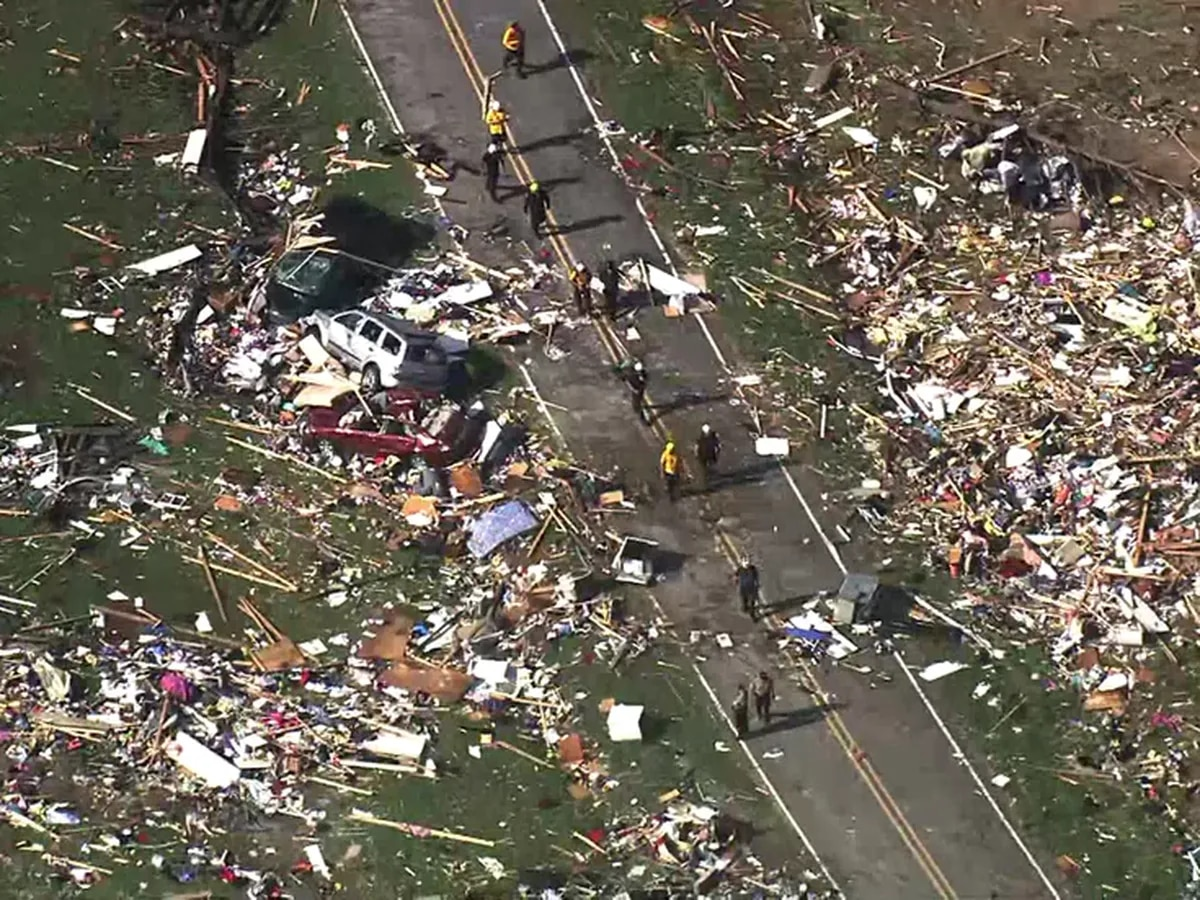 Sheriff: Two dead, three missing, 20 hurt in Bertie County, NC storm damage