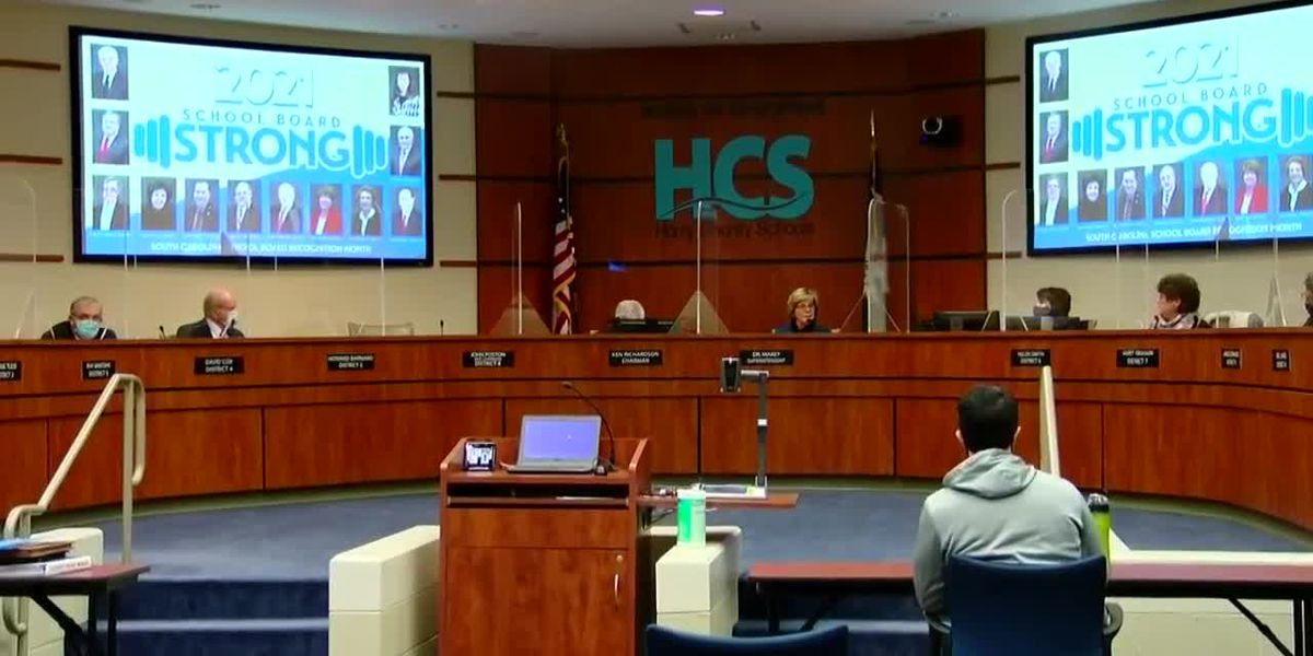 Horry County Board of Education announces 3 finalists for vacant school board seat