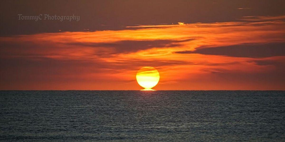 Share your Thursday morning sunrise photos