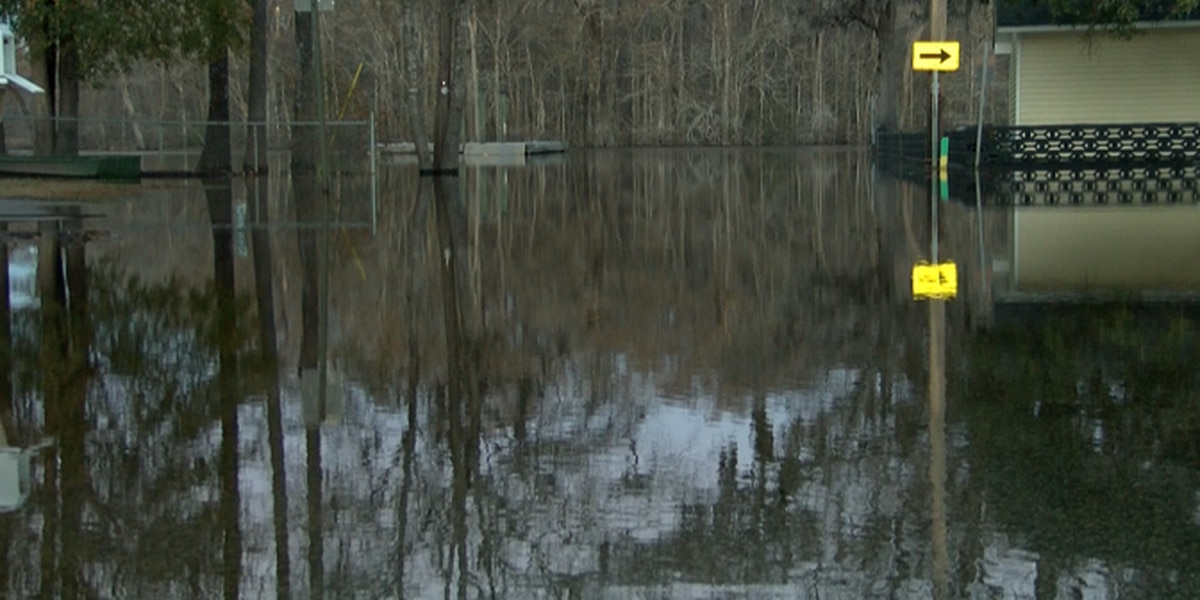 Homeowners dealing with more flooding road closures