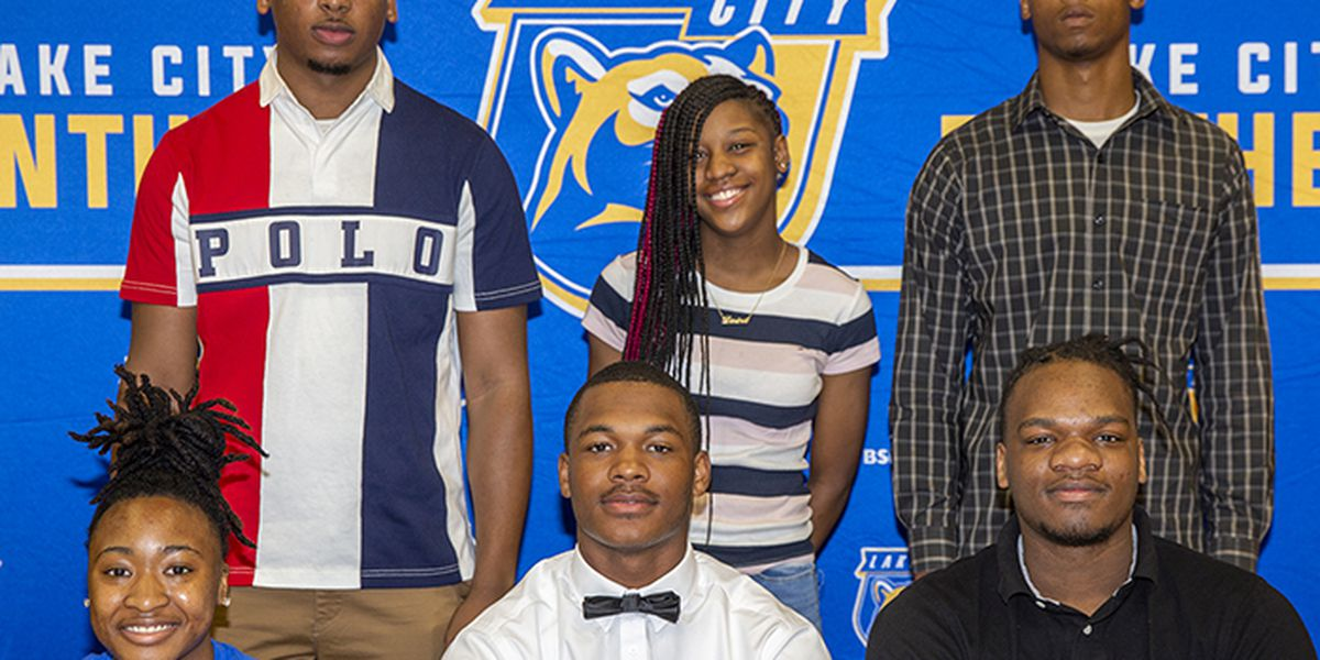 Six Lake City student-athletes sign to play collegiate sports