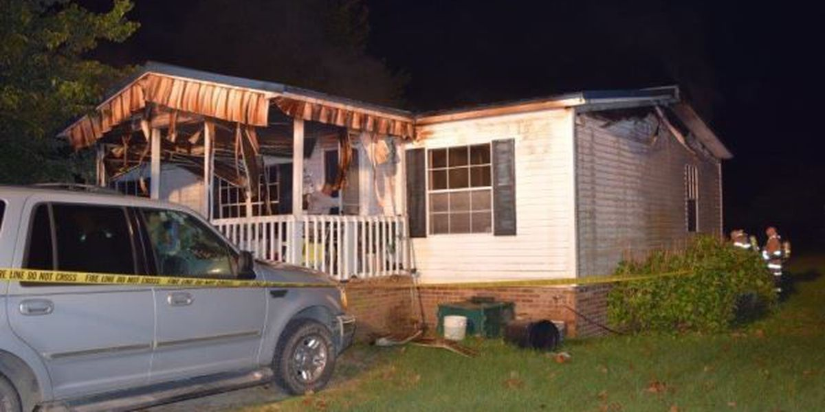 Woman dies in house fire in Robeson County