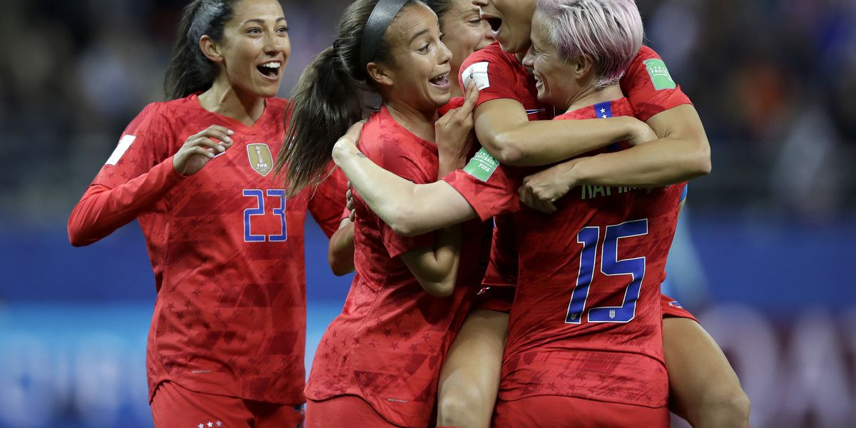 Some criticize U.S. women's soccer team for celebrating goals in 13-0 rout of Thailand
