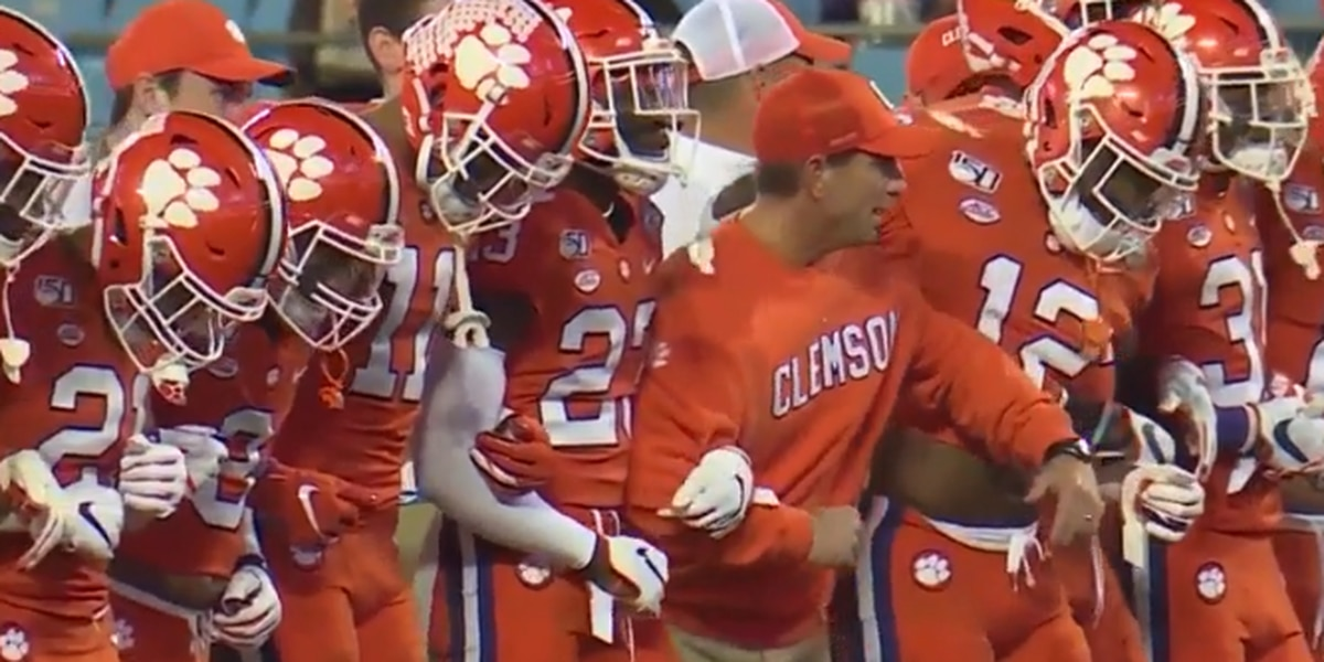 Clemson releases updated 2020 football schedule