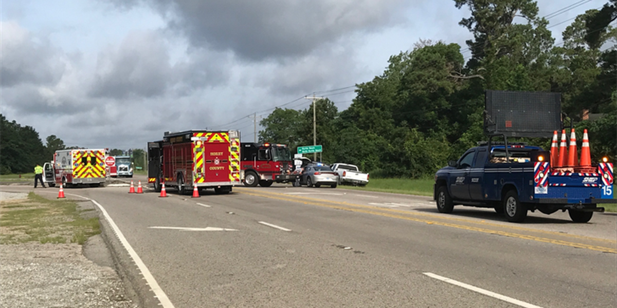 TRAFFIC ALERT: Accident on SC-90 at SC-22 blocking traffic