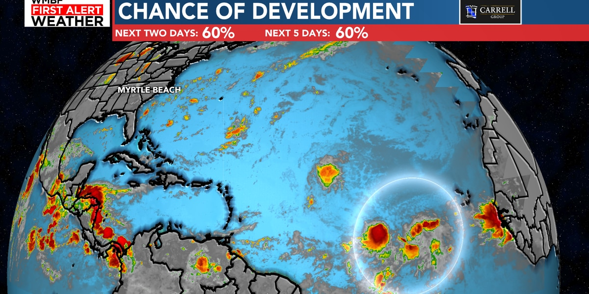 FIRST ALERT: Chance of development in the tropics continues