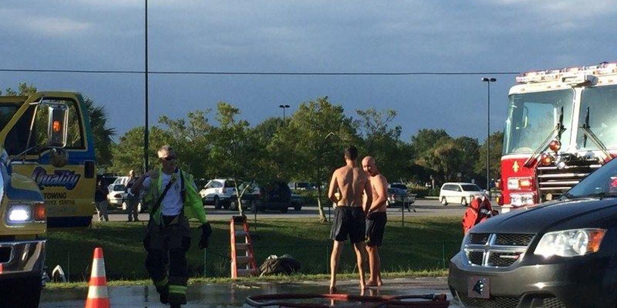 Accident blocks Hwy. 17 Bypass near Mr. Joe White Ave.
