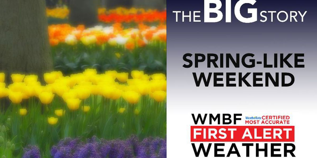 FIRST ALERT: Spring-like weather through the weekend