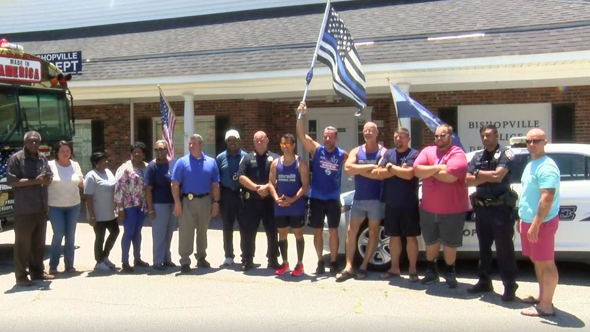 Runners journey 394 miles to honor fallen officers