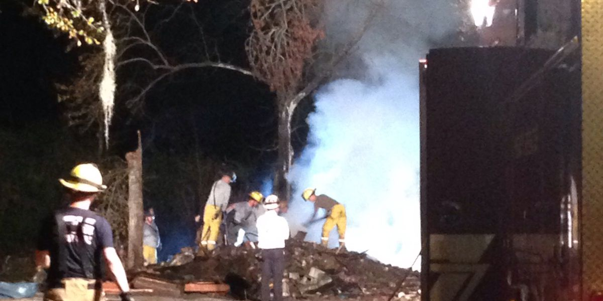 Conway homeowner burns demolished mobile home