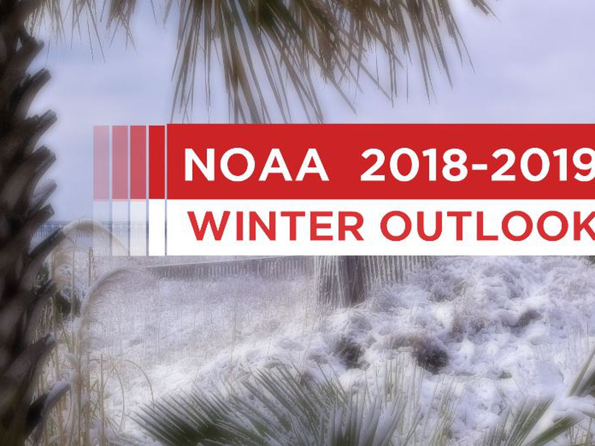 FIRST ALERT: NOAA issues 2018-2019 winter outlook