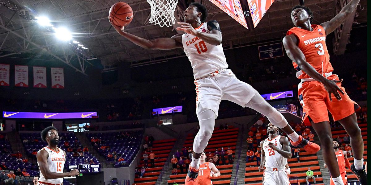 Simms, Honor lead Clemson past Syracuse in 78-61 romp