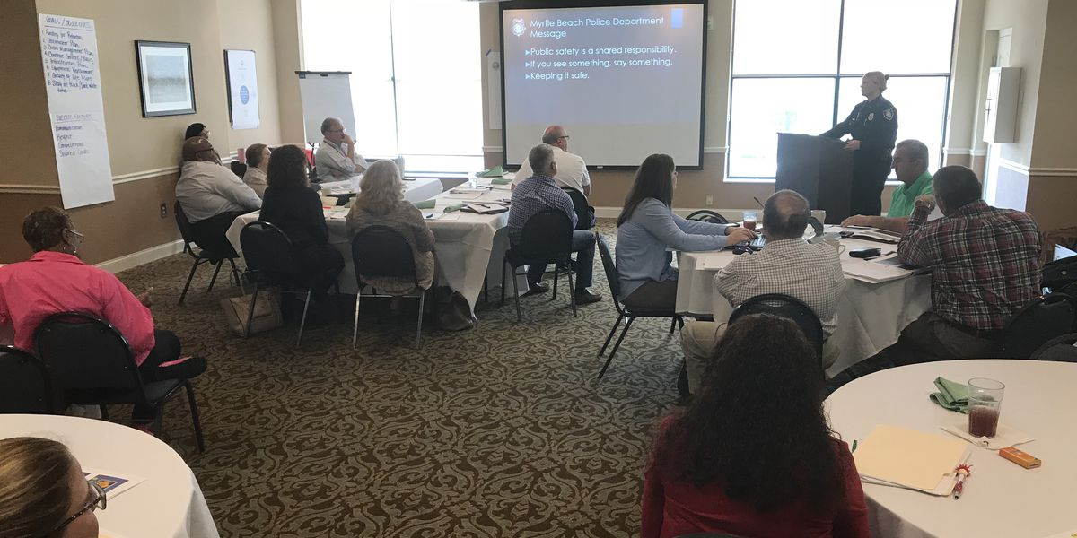 City leaders set goals for the future of Myrtle Beach