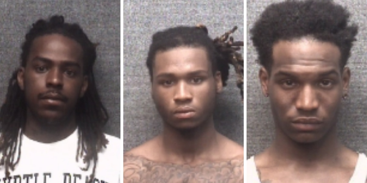 4 people, including 15-year-old, accused of beating up, robbing victims in Myrtle Beach