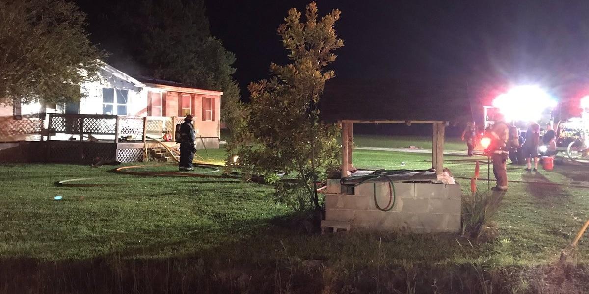 One hurt in Loris house fire