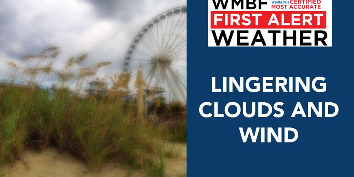 FIRST ALERT: Lingering clouds and gusty breezes