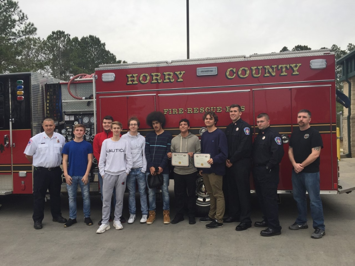 Teen thanks Horry County paramedics, quick-witted friends for saving his life