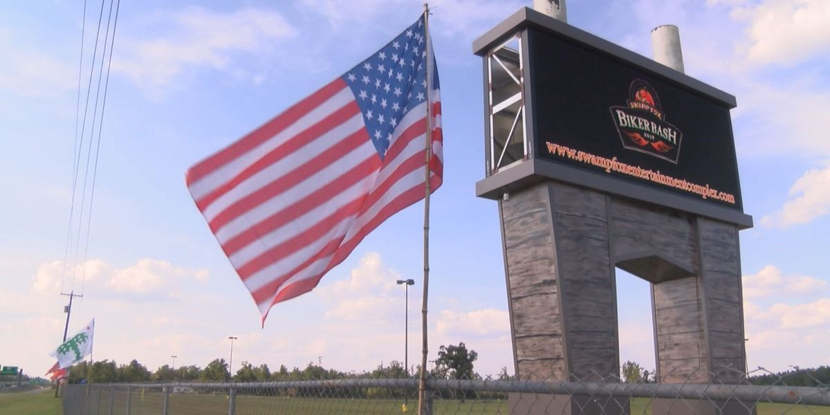 First ever 'Biker Bash' held at Swamp Fox Complex in Marion