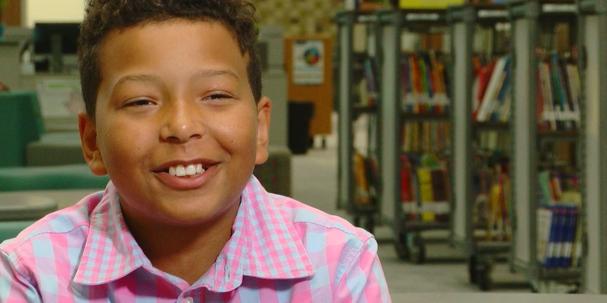 Student Spotlight: Fifth grader encourages peers to 'work your hardest and listen to your teachers'