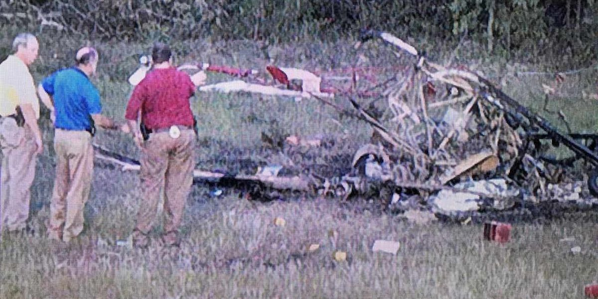 NTSB: Helicopter pilot en route to fundraising event before deadly Darlington County crash