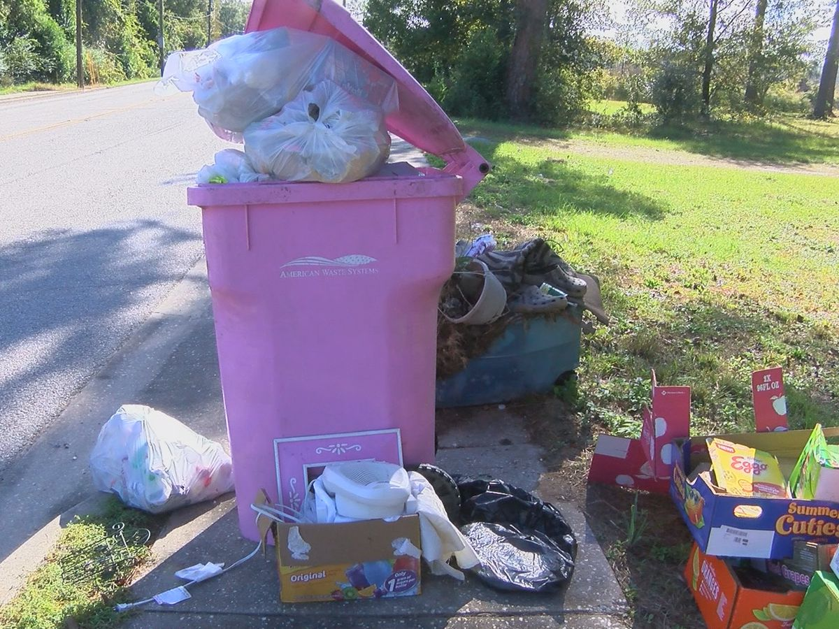 Residents in Nichols and Marion see repeated issues with trash pick-up service