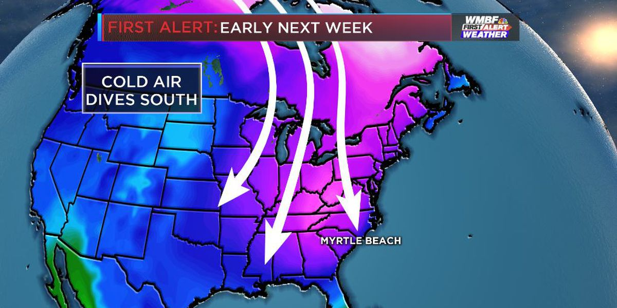 FIRST ALERT Weather pattern to change to significantly colder