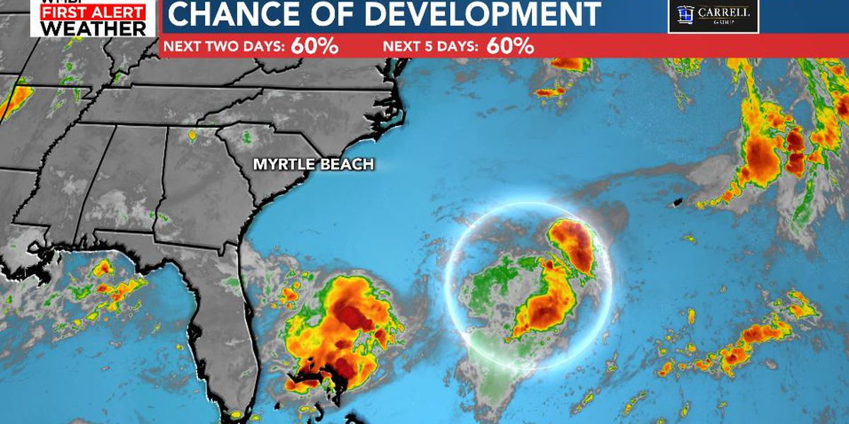 FIRST ALERT: Brief tropical depression may form this weekend