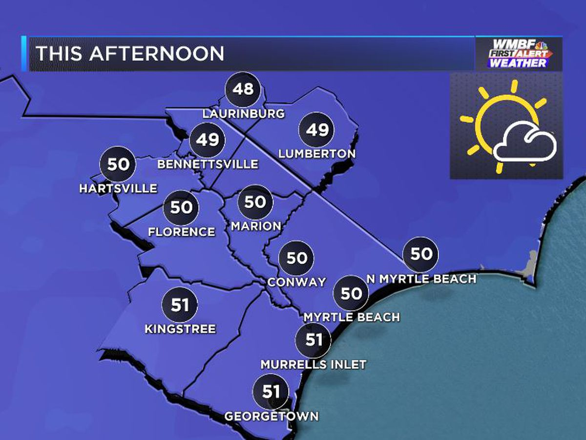 FIRST ALERT: Brighter skies and trending milder - for now