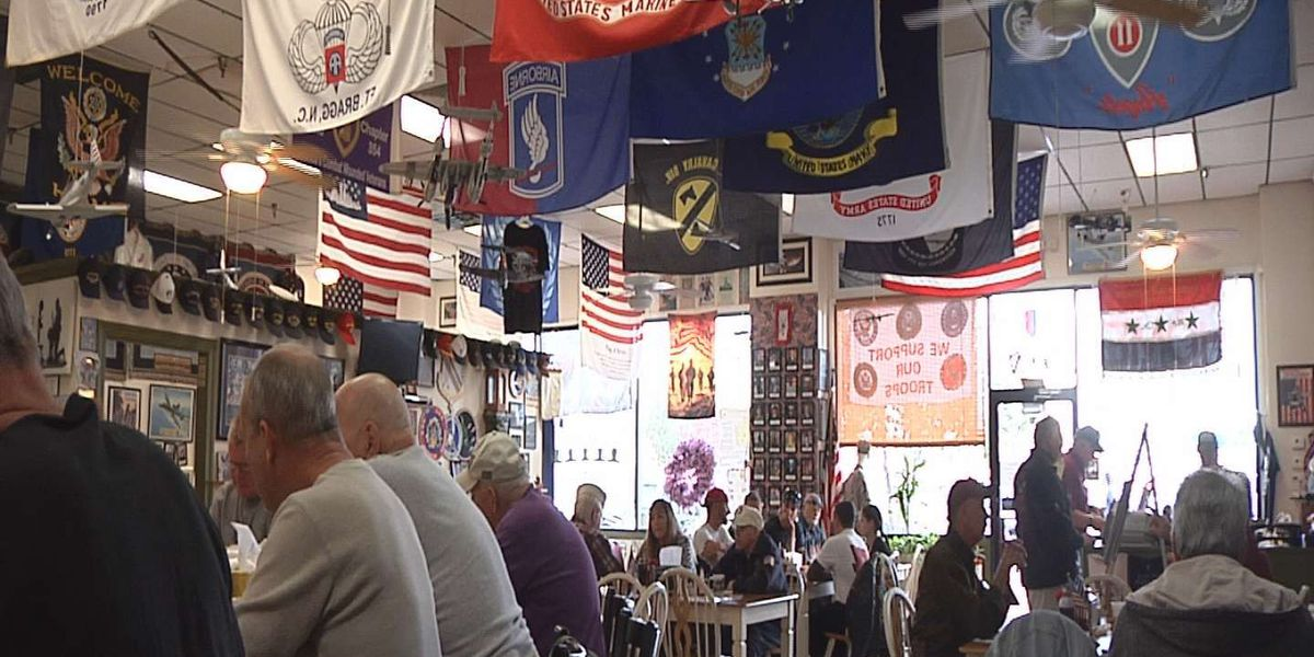 Local veterans stop and remember their time of service