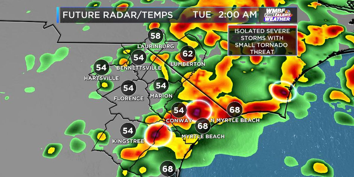 FIRST ALERT: Risk of isolated severe storms, tornadoes may develop tonight