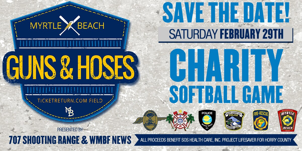 Guns & Hoses charity softball game benefits 'Project Lifesaver' for Horry County