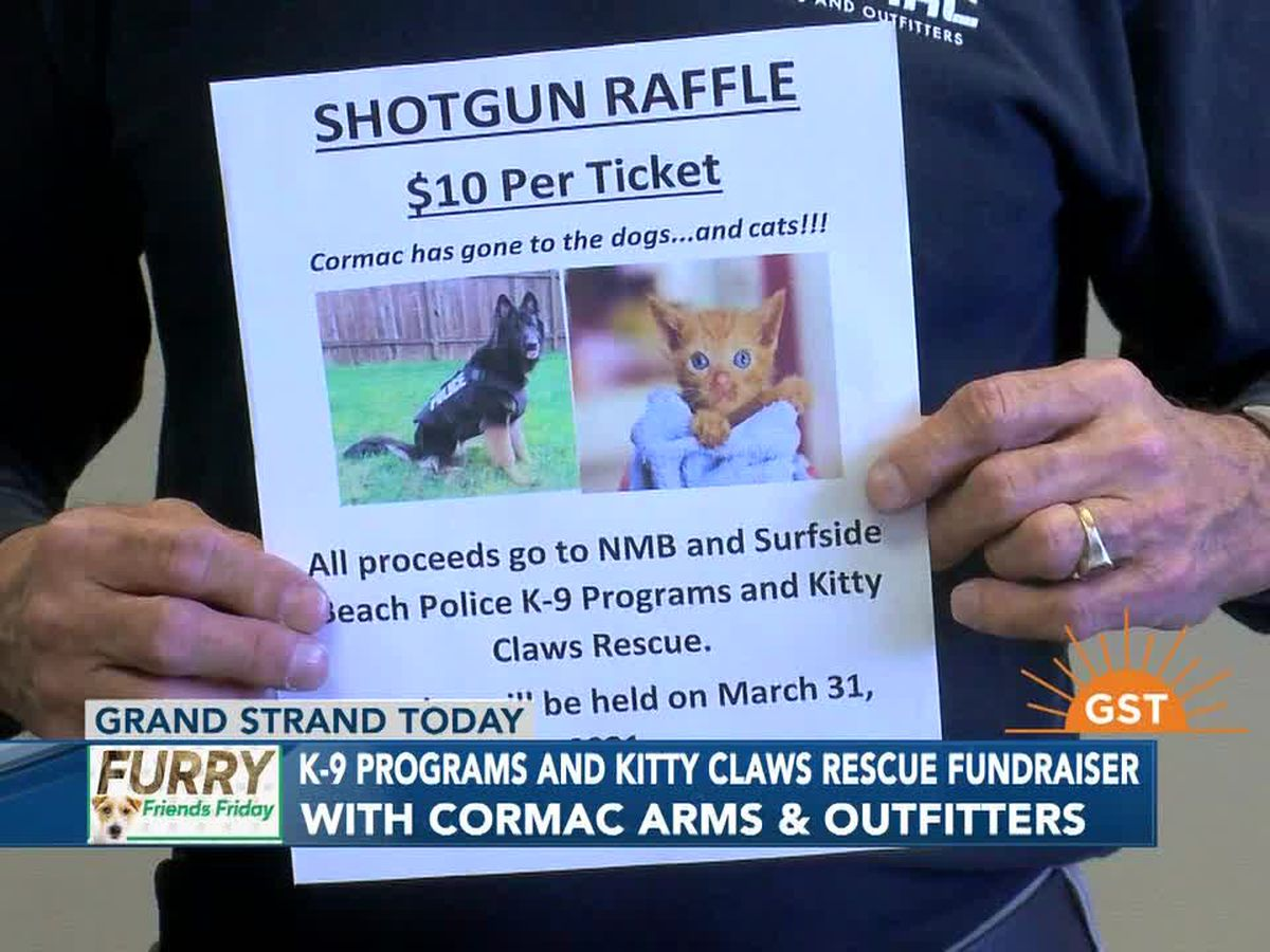 Furry Friends Friday: K-9 Programs and Kitty Claws Rescue Fundraiser