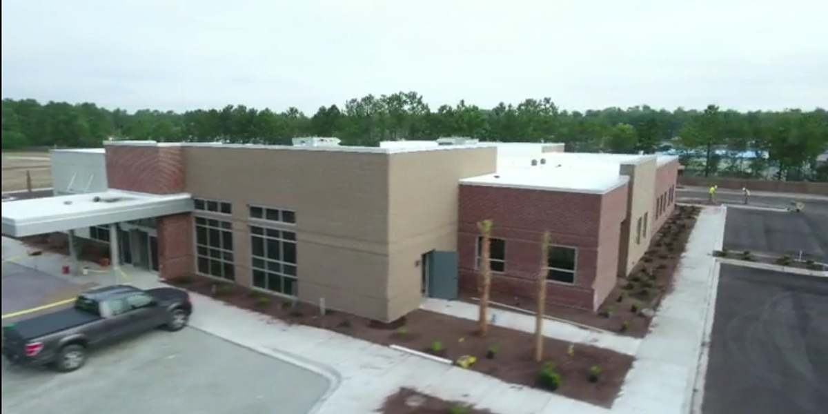 Time-lapse drone video showcases progress of construction of Tidelands Health building